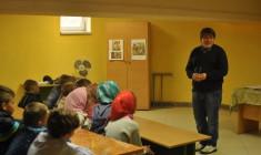 Перший урок у недільній школі селищі Маневичі