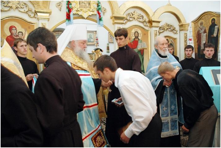 Молебень з нагоди початку навчального 2006 року
