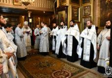 Єпископ Нафанаїл звершив панахиду у другу річницю упокоєння митрополита Ніфонта