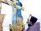 Відбулося освячення придорожнього хреста при в'їзді у місто Горохів