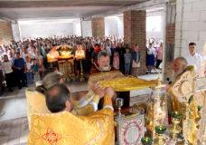 Перше престольне свято у нижньому приділі Свято-Іллінського храму Каменя-Каширського
