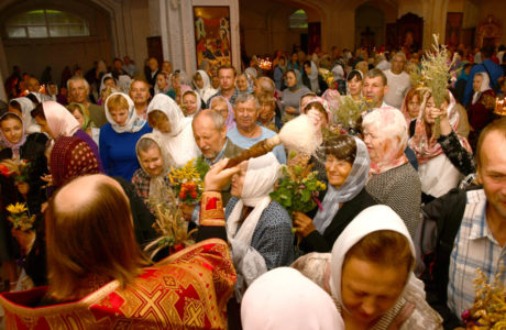У кафедральному соборі відзначили день пам'яті святих мучеників Маккавеїв. ФОТОРЕПОРТАЖ