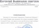 Архієрейське розпорядження щодо відзначення дня Незалежності