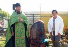 Заупокійна молитва за загиблого військового у селі Великий Омеляник