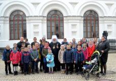 Паломництво дітей недільної школи та прихожан храму міста Ківерці до Києво-Печерської лаври