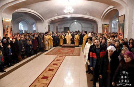 Воскресна літургія архієрейським чином у Неділю 24-ту після П'ятидесятниці