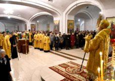 Керуючий Волинською єпархією очолив всенічне бдіння напередодні Неділі 25-ї після П'ятидесятниці у кафедральному соборі Луцька