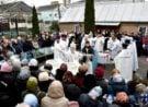 У день Навечір'я Богоявлення архієпископ Нафанаїл звершив богослужіння у Свято-Покровському храмі Луцька
