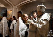 Архієпископ Нафанаїл очолив всенічне бдіння напередодні Неділі 32-ї після П'ятидесятниці у кафедральному соборі Луцька